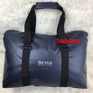 Hugo Boss Duffel Bag Weekender Overnight Gym NEW
